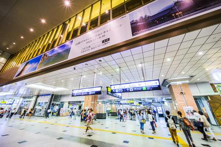 Osaka, Japan -  24 July 2018 - JR Osaka Station in Osaka of Japan.This is a station of West Japan Railway Company.