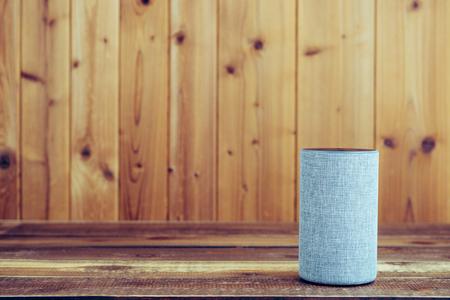 Wooden board and smart speaker