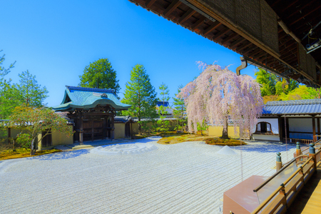 kyoto,Japan - March 30,2018 : Kodaiji is an outstanding temple in Kyoto Higashiyama District Japan. It was established in 1606.