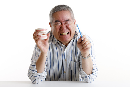 Tooth decay and senior men