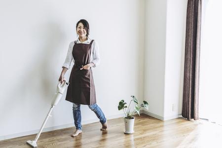 Aspirateur et femmes japonaises