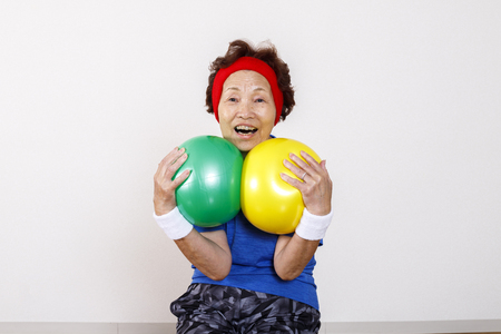 Exercise and elderly women of Asian