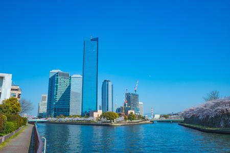 Osaka and urban landscape