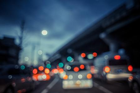 Brake lamp and blur