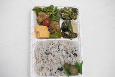 Handmade lunch box and Japan