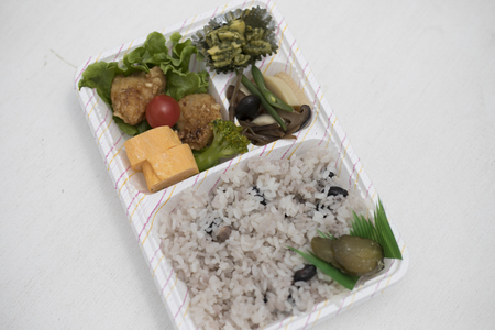 Handmade lunch box and Japan