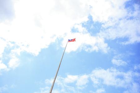Taiwan and the flag Stok Fotoğraf