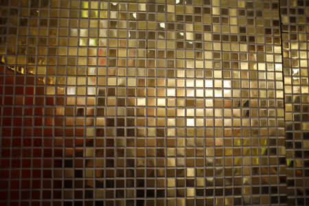 Gold and tile