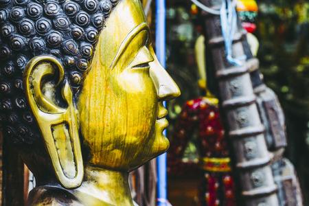 Image and Buddha statue