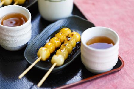 Mitarashi dumplings and Japan
