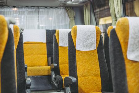 Bus and Seat 免版税图像