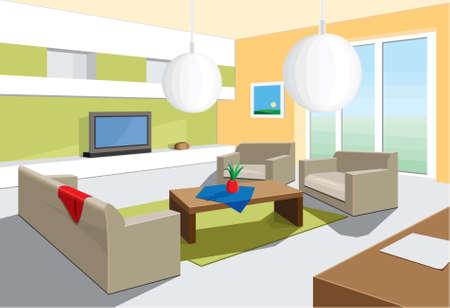 interior home: living room