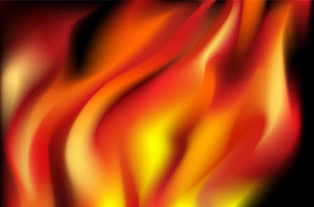 Fire background Stock Vector - 17681025
