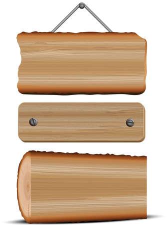 pointer stick: Cartello di legno
