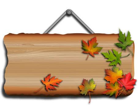 dode bladeren: herfst bladeren Stock Illustratie