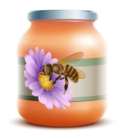 Honey Jar Stock Vector - 20926732