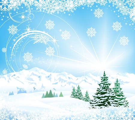 Christmas Background Stock Vector - 20926745