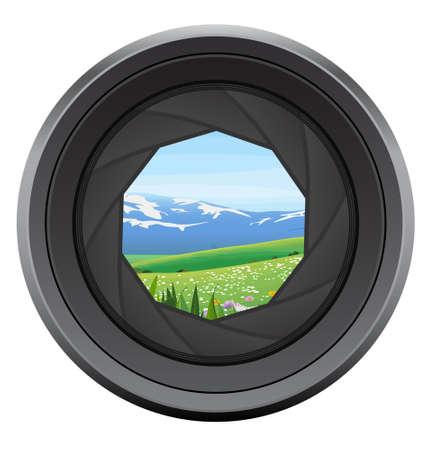 lens Illustration