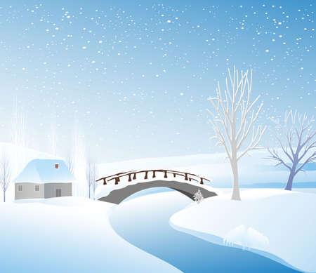 Winter landcape