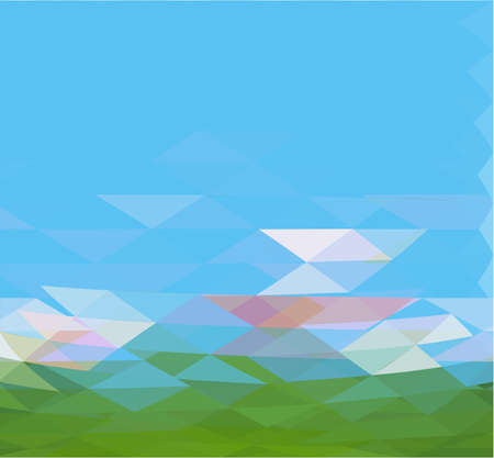 moder: abstract vector moder background with triangle object. Illustration