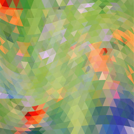 gro: Modern abstract triangles background