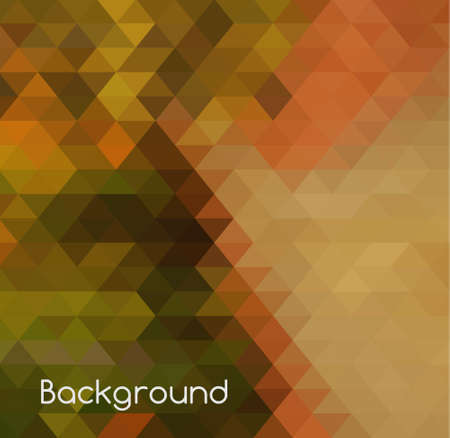 Modern abstract triangles background