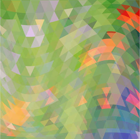 kelly green: green abstract geometric seamless pattern vector