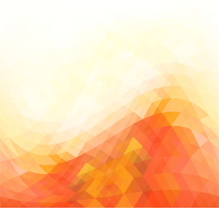yelow: Modern abstract triangles background