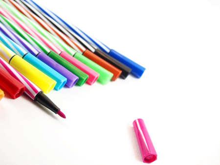 Magische Farben, Malerei Kunst, Zurück Zur Schule Lizenzfreie Fotos ...