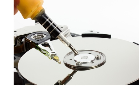 Repair hard disk drive photo