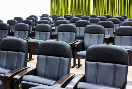 Armchairs in room can use for conference room photo