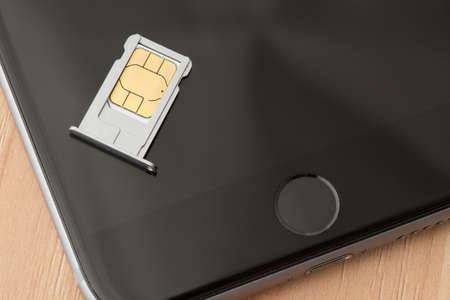 sim: Sim card Stock Photo