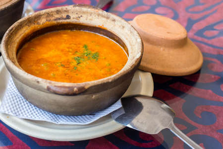 langkawi island: Authentic indian curry in a local restaurant on Langkawi island Malaysia Stock Photo