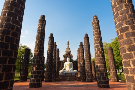 Buddha ststue in the ancient city thailand