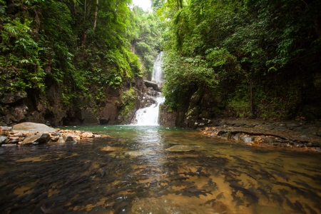 Waterfall in national park , Chanthaburi , thailand
