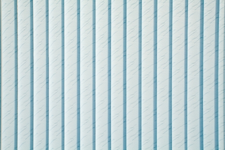 Texture of blue vertical blinds
