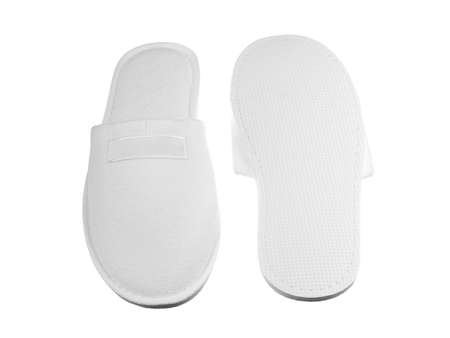 foot ware: Slippers image front and back view Stock Photo