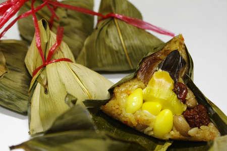 arroz chino: al vapor dumpling de arroz chino