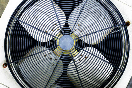fan of air condition Stock Photo