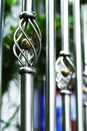 design of steel fence