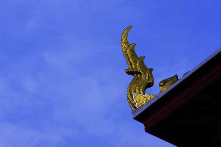 thai style architecture detail