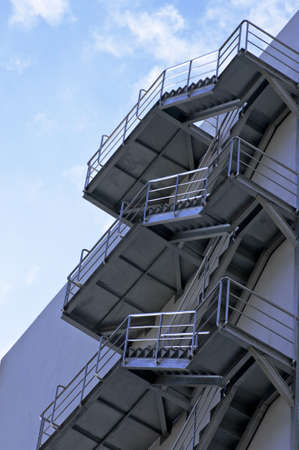 fire stairway of building Stock Photo - 8468475