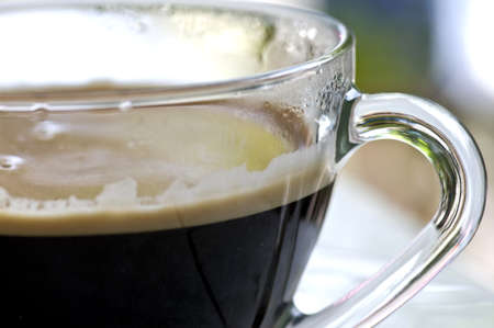 close up of a cup of coffee Stock Photo - 8468468
