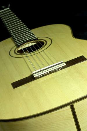 the classical guitar handmade Stock Photo - 8468470
