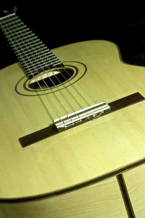 the classical guitar handmade Stock Photo - 8468470