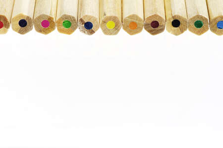 closeup of color pencils Stock Photo - 9261303