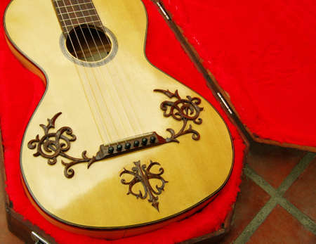 antique romantic guitar Stock Photo - 10014059