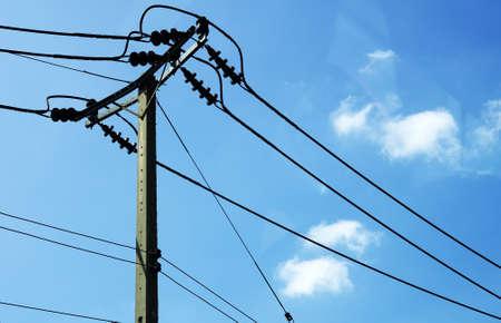 electric wire Standard-Bild