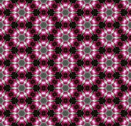 any size: This bright pink abstract seamless pattern can be pieced together to make any size illustration needed for your projects.