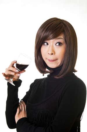 bebes niñas: Solo a beber a una mujer